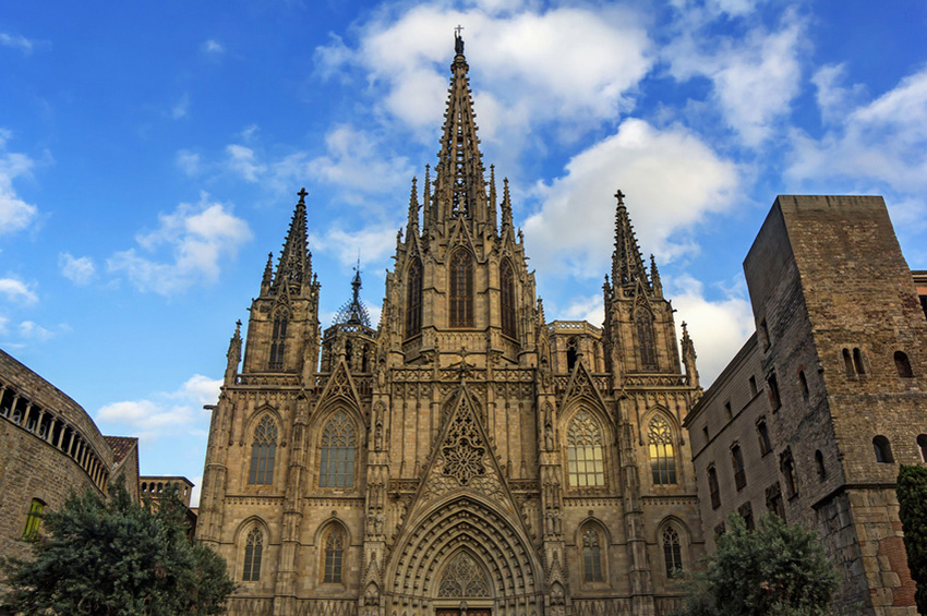 Cathedral of the Holy Cross and Saint Eulalia in Barcelona Catal